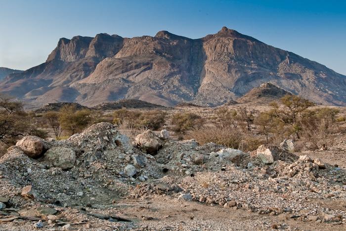 Erongo, Hohenstein, Namíbie