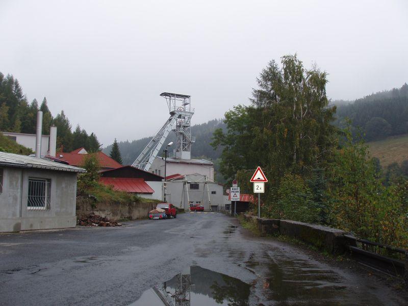 Jáchymov, jáma Svornost, Česká republika