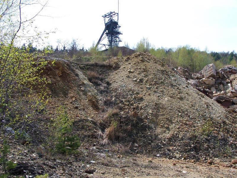 Kaňk u Kutné Hory, důl Turkaňk RD, Česká republika