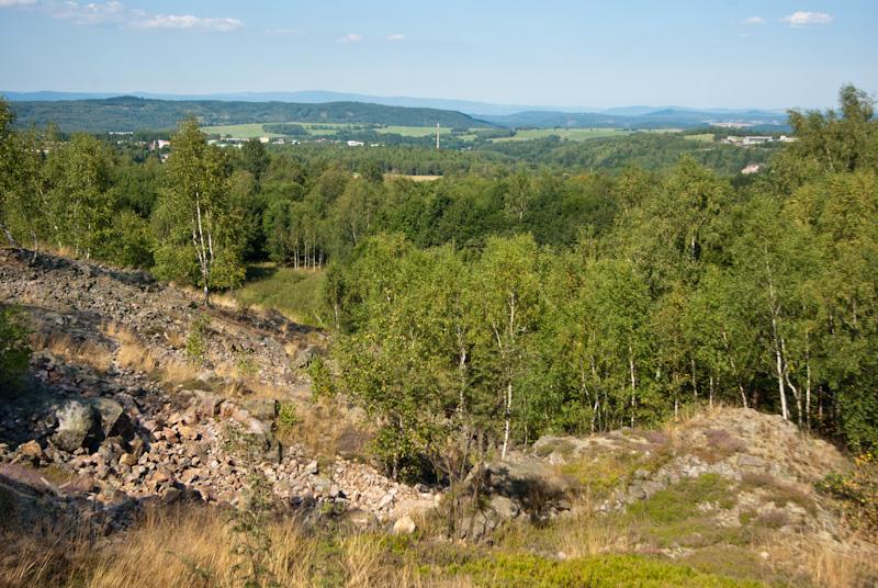 Krásno, Vysoký kámen, greisen, Česká republika