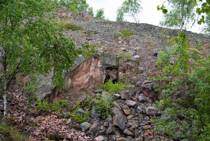 Krásno Vysoký kámen-greisen, Česká republika
