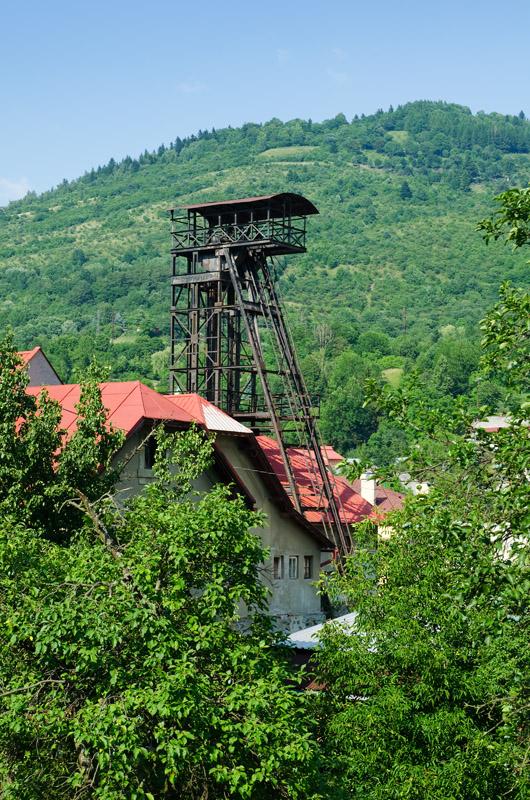 Kremnica, šachta Ferdinand, Slovensko