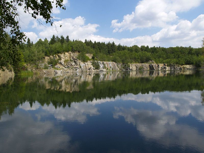 Leštinka, lom Zvěřinov, Česká republika