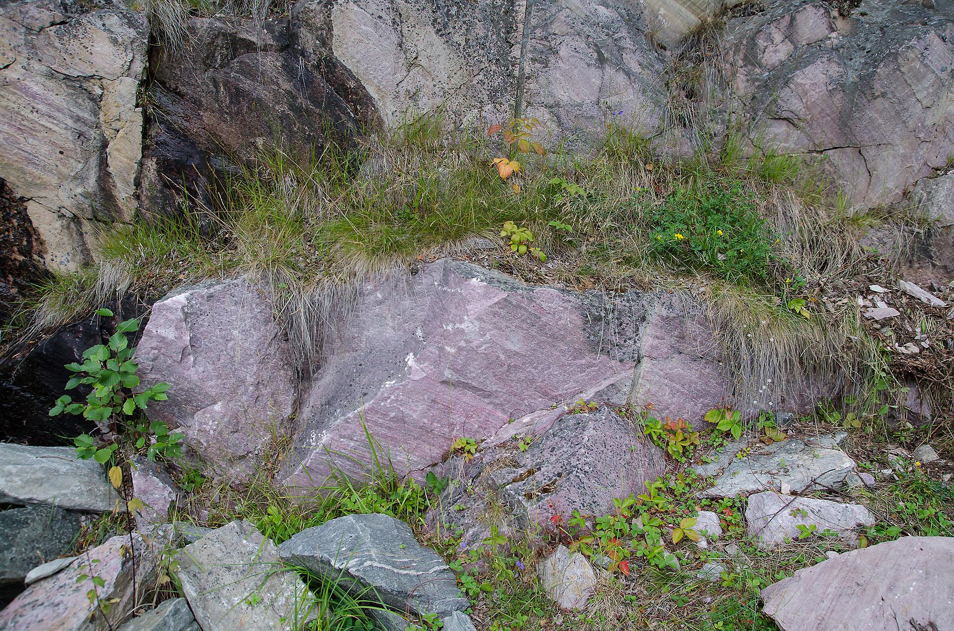 Søre Lia Quarry, Lom, Norsko