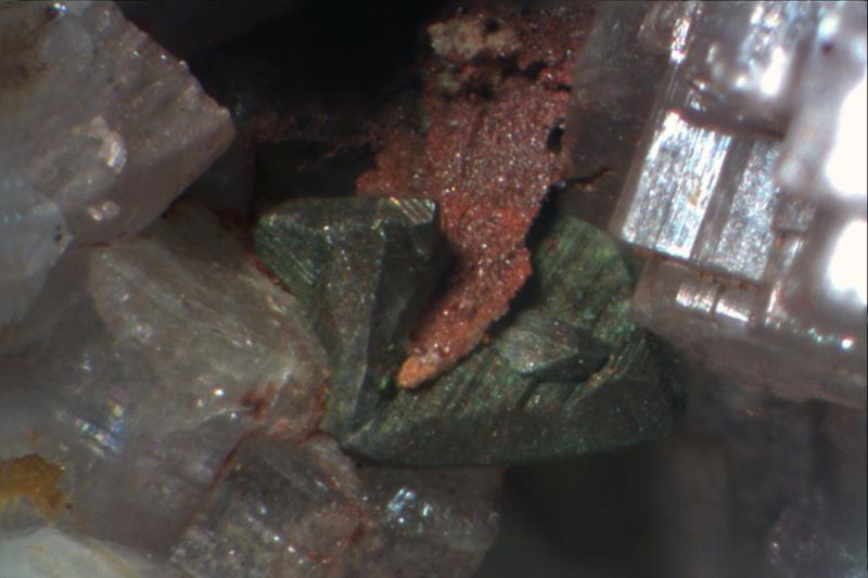 Chalkopyrit, Apatit