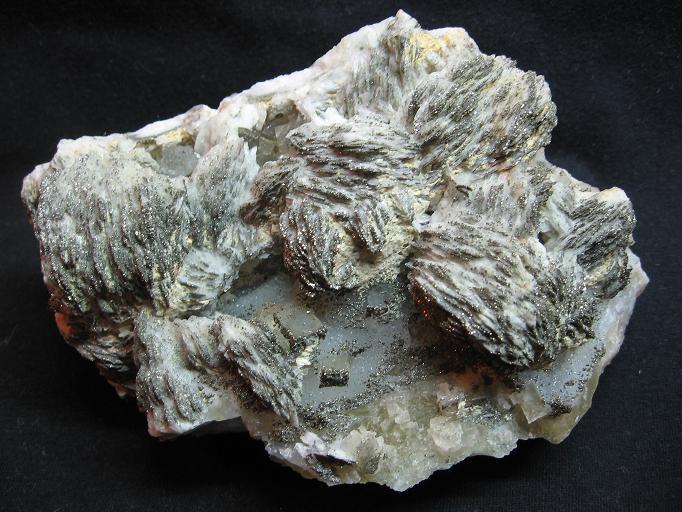 Baryt, Fluorit, Pyrit