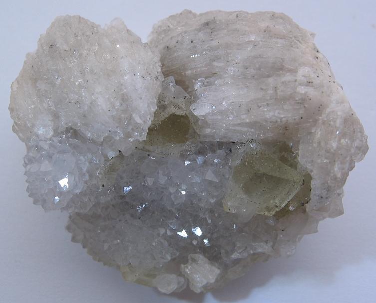 Baryt, Fluorit, Křemen