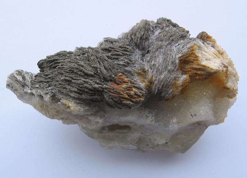 Baryt, Pyrit