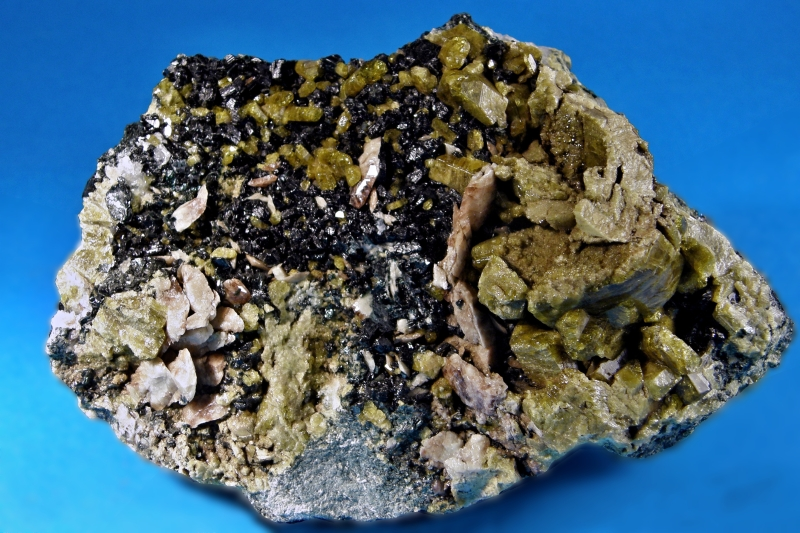 Epidot, Titanit, Chlorit