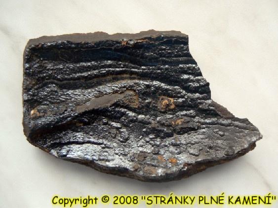 Siderit (var. Oligonit), Goethit